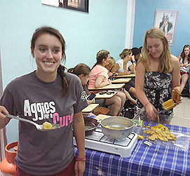 class activity cooking spanish alpi